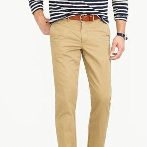 J Crew 770 Straight-fit pant in Broken-in chino 32